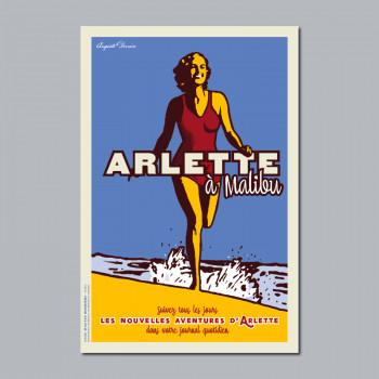 Carte Postale ARLETTE À MALIBU