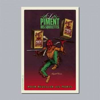 Carte Postale PIMENT DES...