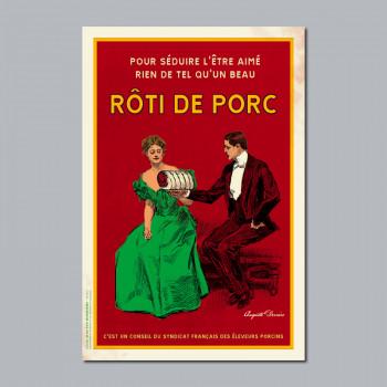Carte Postale RÔTI DE PORC