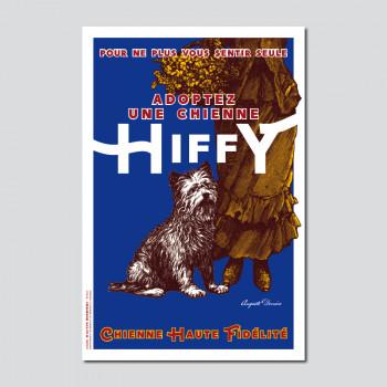 Carte Postale CHIENNE HIFFY