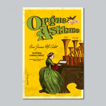 Carte Postale ORGUE ASTHME