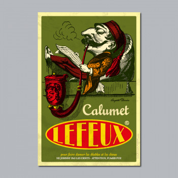 Carte Postale CALUMET LEFEUX