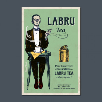 Carte Postale LABRU TEA