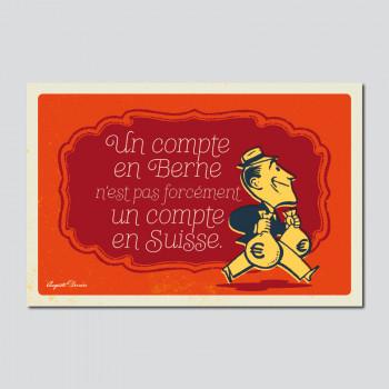 Carte Postale UN COMPTE EN...