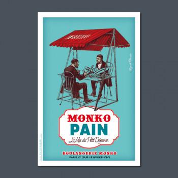 Carte Postale MONKO PAIN