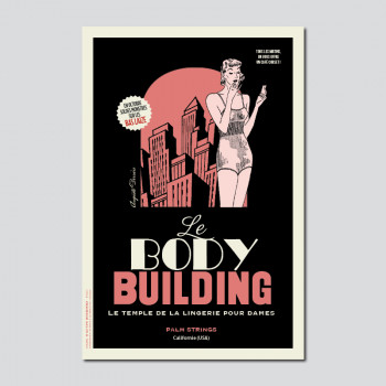 Carte Postale BODY BUILDING