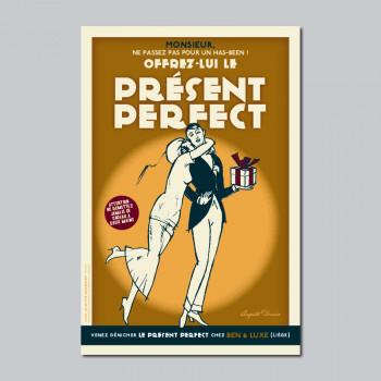Carte Postale PRESENT PERFECT