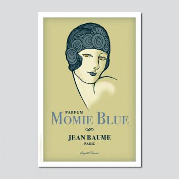 Carte Postale MOMIE BLUE