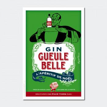 Carte Postale GIN GUEULE BELLE
