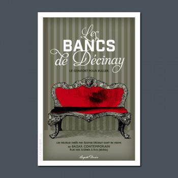 Carte Postale BANCS DE DÉCINAY
