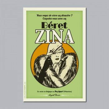 Carte Postale BERET ZINA