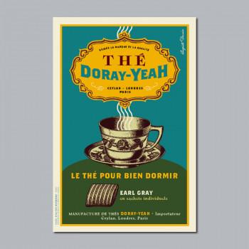 Carte Postale THÉ DORAY-YEAH
