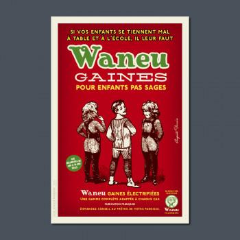 Carte Postale WANEU GAINES