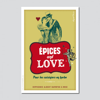 Carte Postale ÉPICES AND LOVE