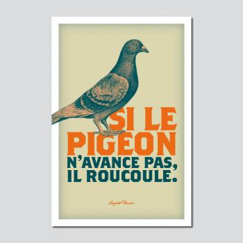 Carte Postale SI LE PIGEON