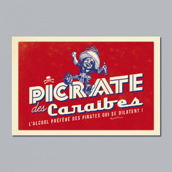 Carte Postale PICRATE DES...
