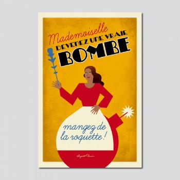 Carte Postale MANGEZ DE LA...