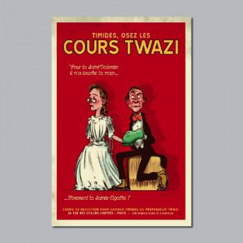 Carte Postale COURS TWAZI