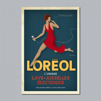 Carte Postale LORÉOL