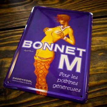 Plaque Métal BONNET M