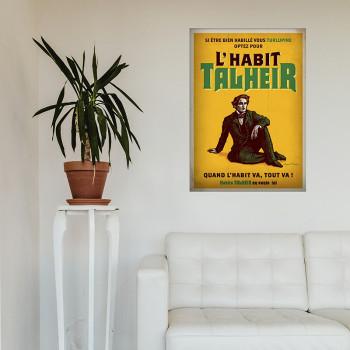 Poster L'HABIT TALHEIR