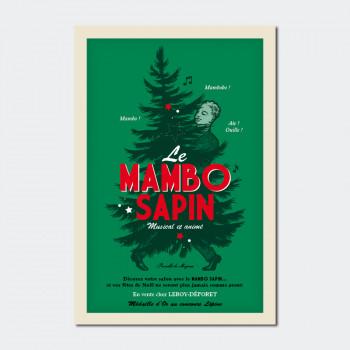 Carte Postale LE MAMBO SAPIN