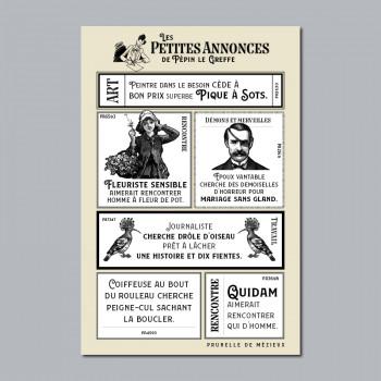 Carte Postale PETITES ANNONCES