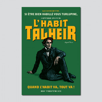 Carte Postale L'HABIT TALHEIR