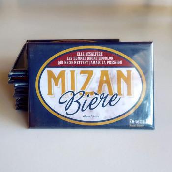 Magnet LA BIÈRE MIZAN