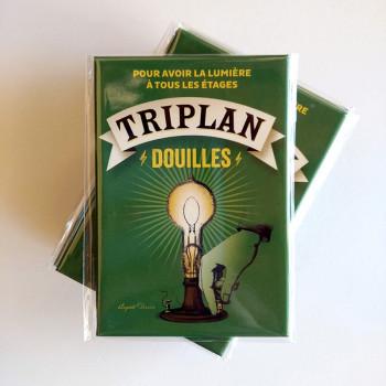Magnet TRIPLAN DOUILLES