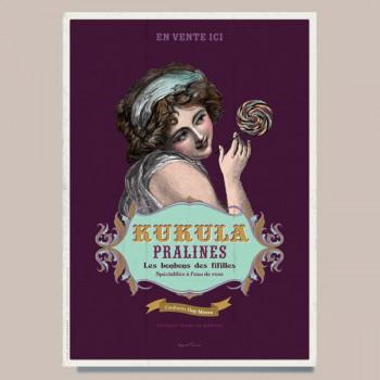 Poster KUKULA PRALINES